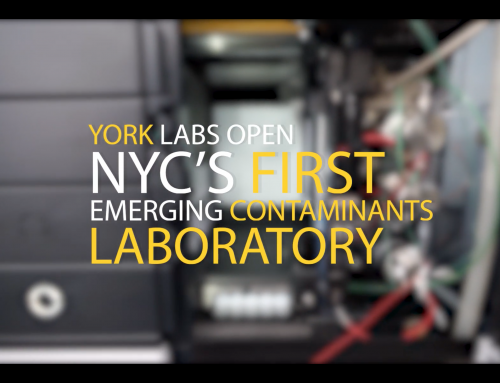 "YORK Opens NYC's First Emerging Contaminants Laboratory to Test ""The Devil's Piss"""