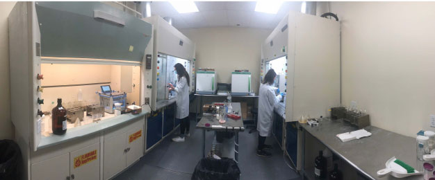 The new, expanded Organics Lab in York's Stratford facility